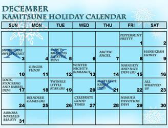PRESALES CLOSED!! Kami December Calendar by Tsuzukikun