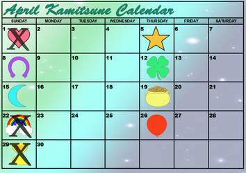 ~PRESALES CLOSED~ April Lucky Charms Calendar by Tsuzukikun