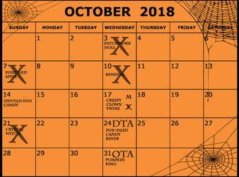PRE SALES CLOSED!! Kamitsune Halloween Calendar by Tsuzukikun