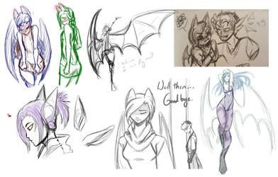 Many Much Bat by Mayonne