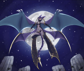 Final Fantasy Crobat by Mayonne