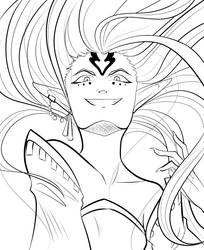Hexing Goddess, Majora by Mayonne