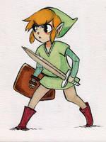 Lil Link by pandasuze