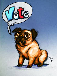 Vote Pug Res by victorroa
