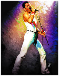 Freddie Mercury by victorroa