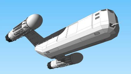 Cargo Ship WIP III by WideFoot