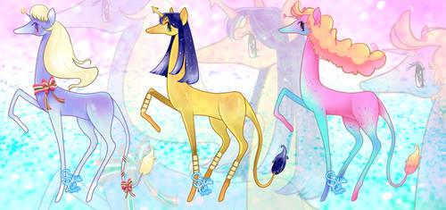 Magic Unicorn Adopts (OPEN) by SkittlePuffAdopts