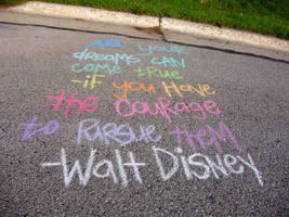 Walt Disney in Rainbow by Melyssah6