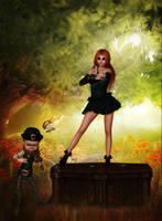 My Little Irish Dancer by Frollein-Zombie