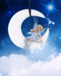 My Little Moonbeam by Frollein-Zombie