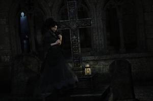 Am Grabe meiner toten Seele by Frollein-Zombie