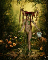 Dryad by Frollein-Zombie
