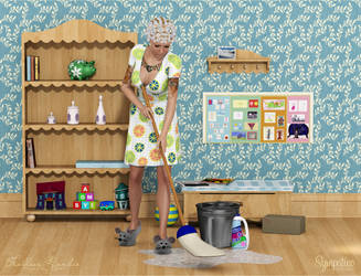 House Cleaning by Frollein-Zombie