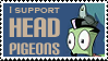 Head Pigeons by Amilliss