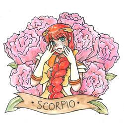 Sailor Scorpio by ElyanaSP
