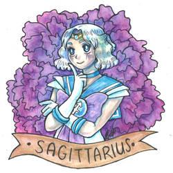 Sailor Sagittarius by ElyanaSP