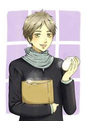 Sugawara Curry Bun by EndouHemel
