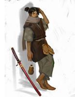 Another swordsman by FUNKYMONKEY1945