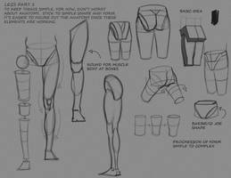 Simple Leg Notes P1 by FUNKYMONKEY1945