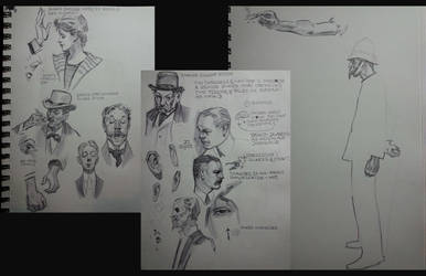 Sketchin Master Studies at the booth at CTN by FUNKYMONKEY1945