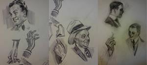 Flagg and Leyendecker studies by FUNKYMONKEY1945
