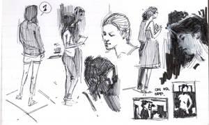 3 by 5 sketchbook page 15 by FUNKYMONKEY1945