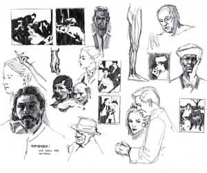 Various Studies2 by FUNKYMONKEY1945