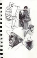 Various Studies45 by FUNKYMONKEY1945