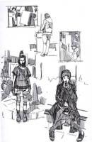 Fun with the Muji Gel Pen 2 by FUNKYMONKEY1945
