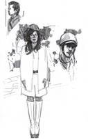 Fun with the Muji Gel Pen 14 by FUNKYMONKEY1945