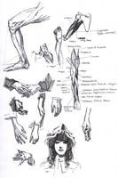 Fun with the Muji Gel Pen 24 by FUNKYMONKEY1945