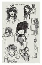 Sample Page for Kickstarter Sketchbook10 by FUNKYMONKEY1945