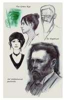 Sample Page for Kickstarter Sketchbook11 by FUNKYMONKEY1945