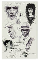 Sample Page for Kickstarter Sketchbook19 by FUNKYMONKEY1945