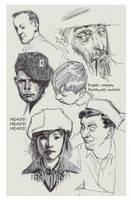 sketchbook sample by FUNKYMONKEY1945