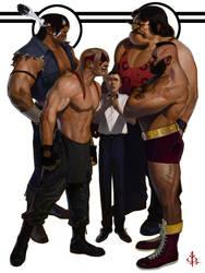 Heavyweights by FUNKYMONKEY1945