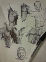 sketching through by FUNKYMONKEY1945