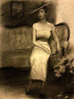 Ambient light life drawing by FUNKYMONKEY1945