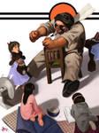 Story Time by FUNKYMONKEY1945