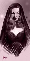 timed head sketch 1418 by FUNKYMONKEY1945