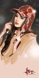 timed head sketch 1441 by FUNKYMONKEY1945
