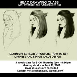 Head Drawing Class by FUNKYMONKEY1945