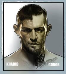Khabib or Conor? by FUNKYMONKEY1945