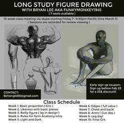 10 week long study class by FUNKYMONKEY1945
