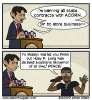Jindal vs Kanye by ekillett