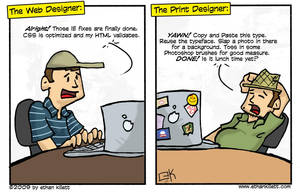 Web vs Print by ekillett