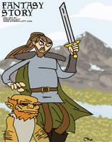 Fantasy Story by ekillett