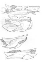 Starship Helvetica Ship Ideas by ekillett