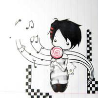 Chibi-kun by NotikaOrWhatever