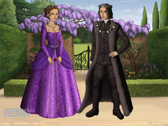 Hermione And Snape In Tudor Time by jasiabzdega1954